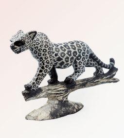 Prowling Leopard Sculpture