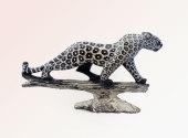 Leopard Brown Serpentine Sculpture