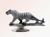 Prowling Leopard Sculpture on sale