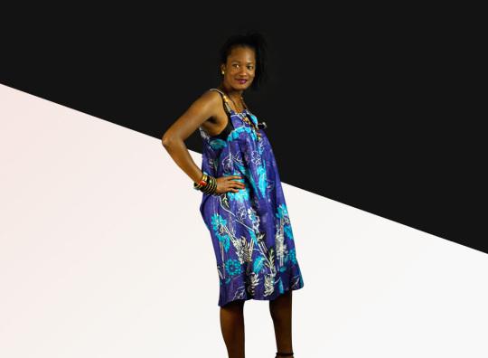 African fashion Bassamoise Style Dress