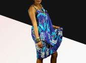 Bassamoise Style Dress
