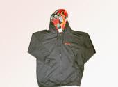 MICOBI navy blue hoodie Nigerian Print