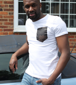MICOBI White fitted tee