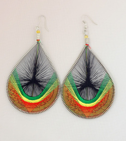 4 Thread Earrings BRYG
