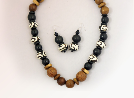African Necklace And Earring Set