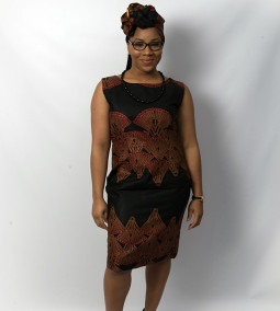 Ghanaian Fashion Shift BB Dress