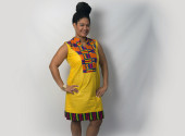Ghanaian Kenete dress
