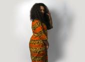 Ghanaian Batik Dress
