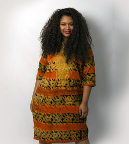 Ghanaian Batik Dress