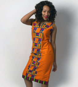 Screams Africa Kenete Dress