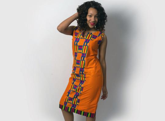 Screams Africa Kenete Dress